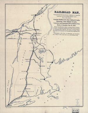 Railroad Maps of the United States